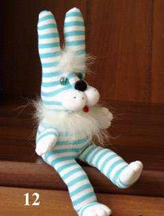 Носки зайцы своими руками