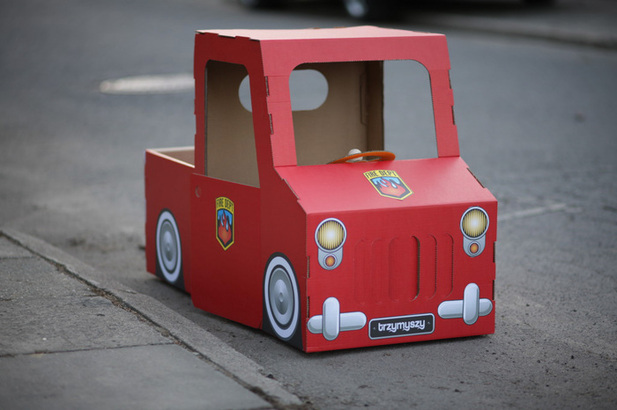 Автомобиль из картона своими руками