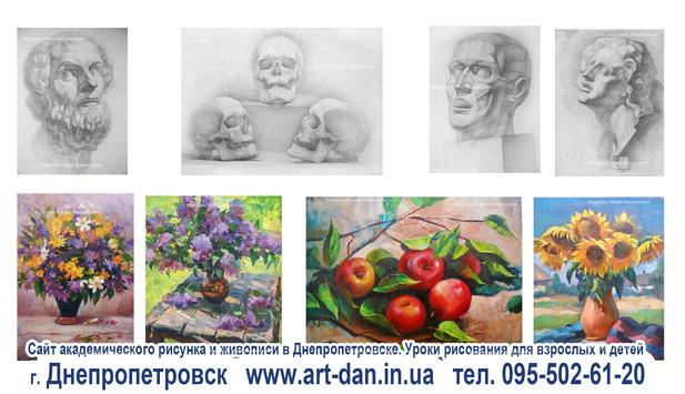 Основы академического рисунка и живописи