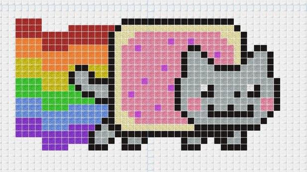 Как сделать фото по пикселям