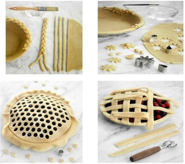 Как сделать верх у пирога 800