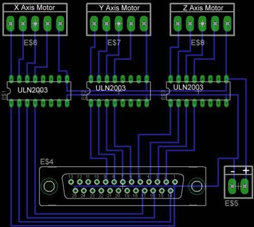 Контроллер для шаговых двигателей своими руками