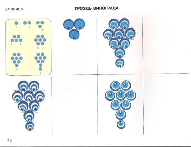 Образцы городецкой росписи для детей