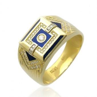 серьги в форме колец золото