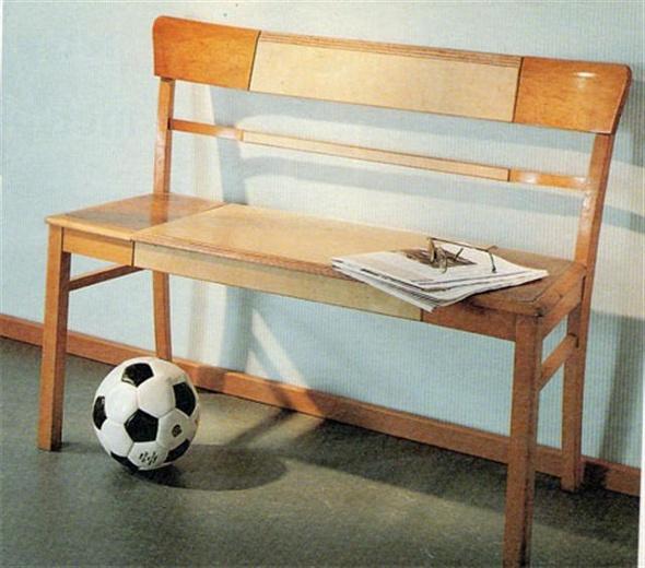 Скамейка из школьных стульев своими руками 64