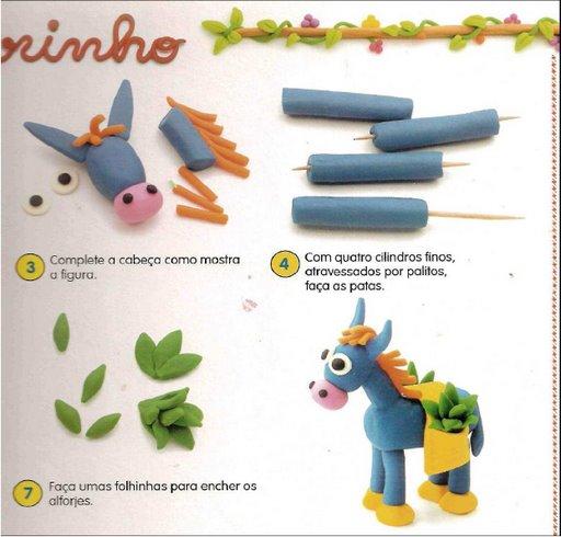 Поделки из пластилина к новому году своими руками с инструкцией