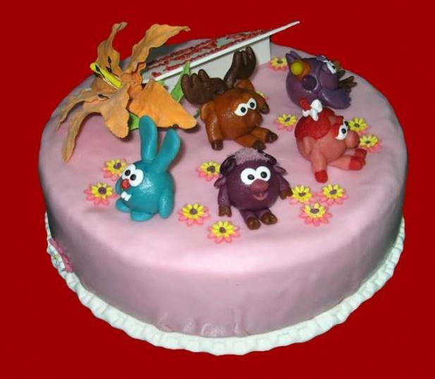Красивые торты для детей на день рождение