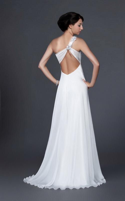 вечернее белое платье с красными цветами магазин :: clemassnorad1978