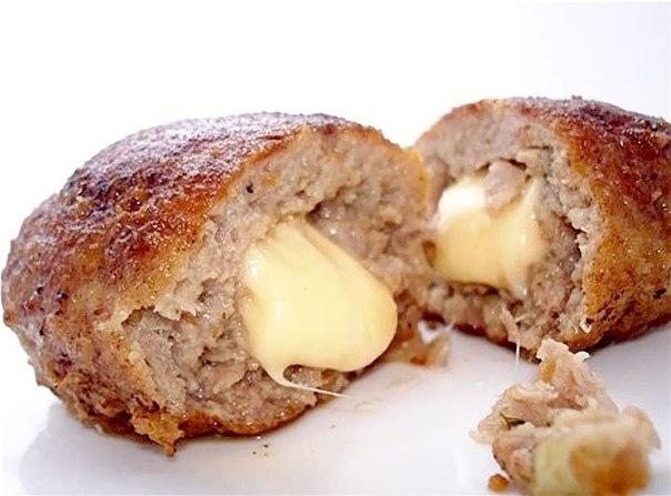 Мясные котлеты в духовке рецепт с сыром