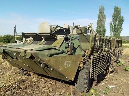 российский БТР-80.