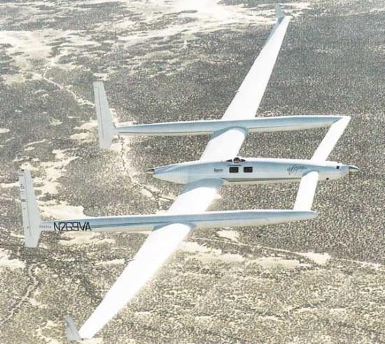 Дедушка рутан для гонок проектировал этот самолет