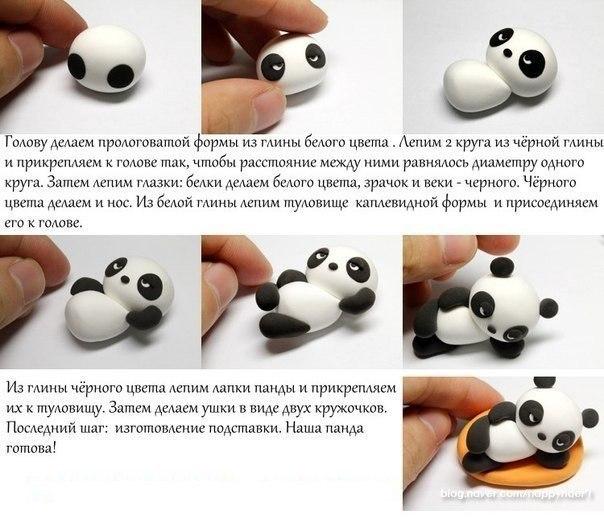 Фигурки из пластилина Пошаговые инструкции лепки фигурок