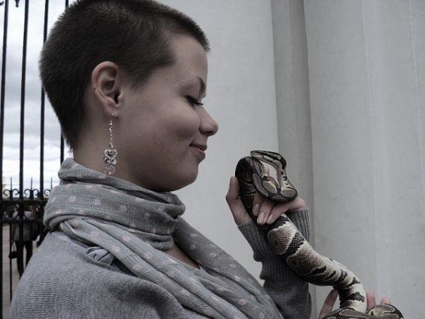 Фото бритые девушки фото 573-968