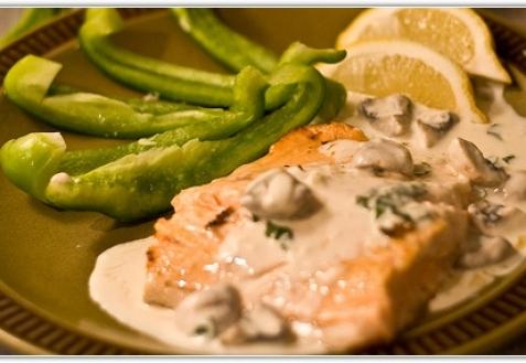 Грибной соус к рыбе рецепт