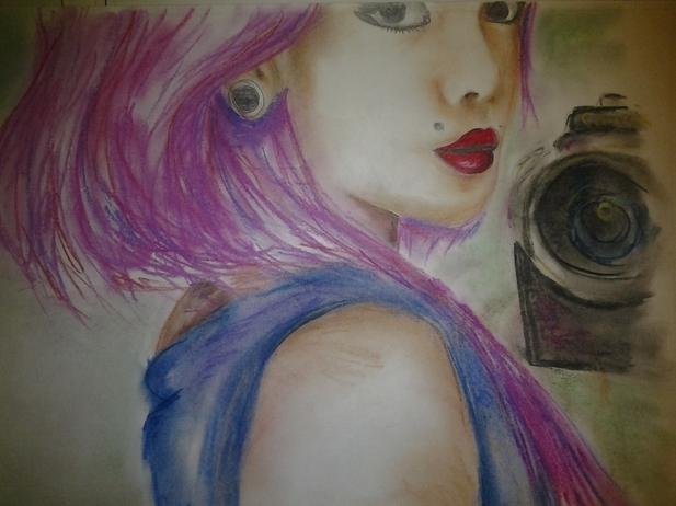 подруге рисунок: