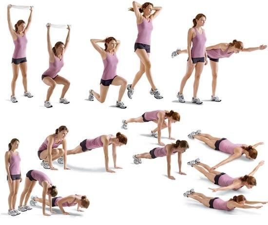 Упражнения в домашних условиях для женщин после 55 лет