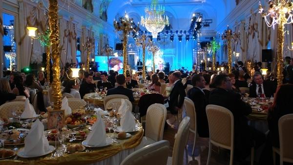 Свадебный банкет VIP-класса в арендованном царском дворце