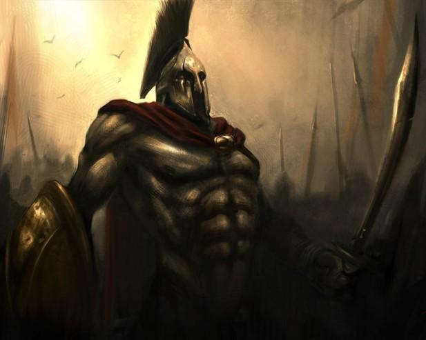ответили спартанцы.