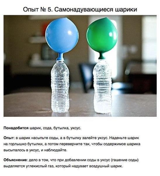 Опыты по физике в домашних условий для детей