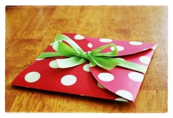 Как сделать подарочные конверты своими руками