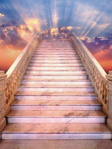 Лестница в небо фото