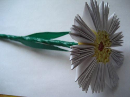 Модульное оригами схема сборки цветов.