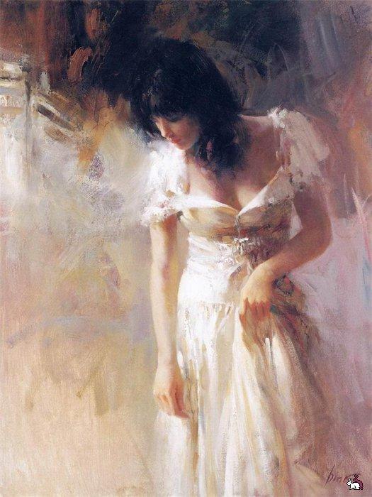 Душевная женская тайна в картинах