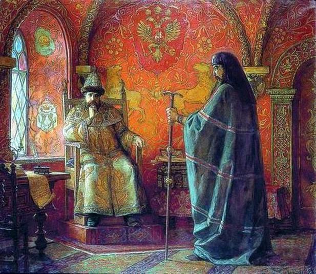Картинки по запросу Москва царь и патриарх