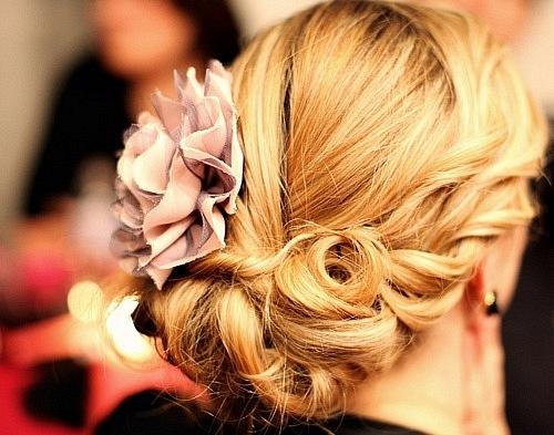 красивые свадебные прически блондинка волос до плеч