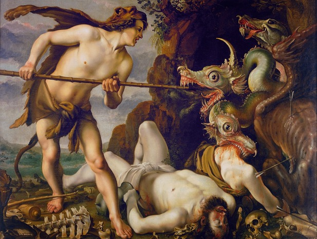 an analysis of the greek myth of a turtle Aphrodite was the ancient greek goddess of love, beauty, pleasure and procreation she was depicted as a beautiful woman often accompanied by the winged godling eros.
