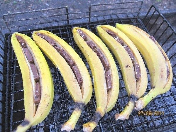Как приготовить бананы в шоколаде рецепт