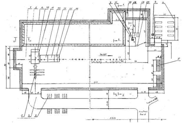 Рис.9 Схема кустового