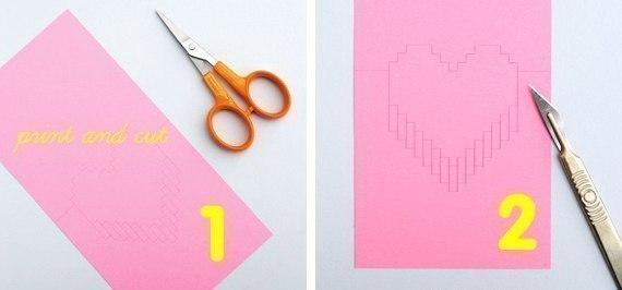 Как сделать 3д открытку своими руками маме