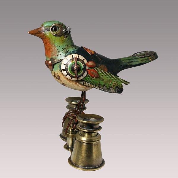 Стимпанк - птицы от Jim Mullan - Клуб виртуальных коллекционеров