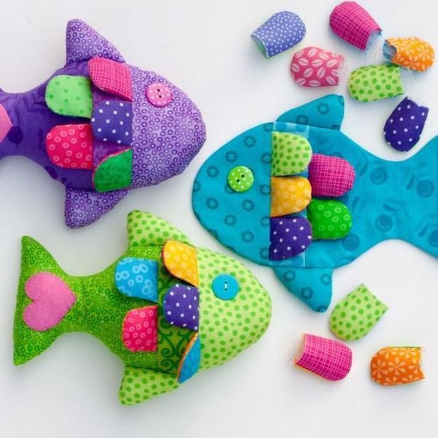 Легкие и красивые игрушки своими руками