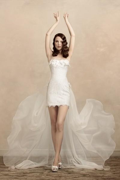 Платья свадебные короткие 2013 фото - Галерея - Актуальные модные