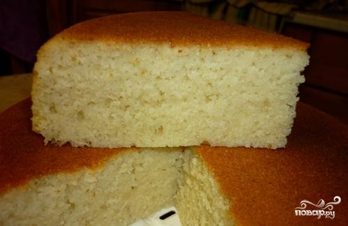 манник на кефире пошаговый рецепт с фото