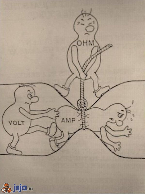Оригинал взят у asaratov в Закон Ома .  Иллюстрация ... :) с физикой у меня явно очень плохо.