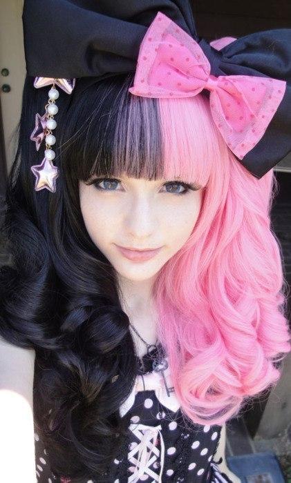 Разноцветные волосы картинки - b67