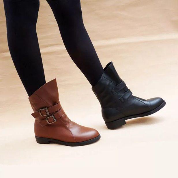 Ботинки женские весна 2017 без каблука