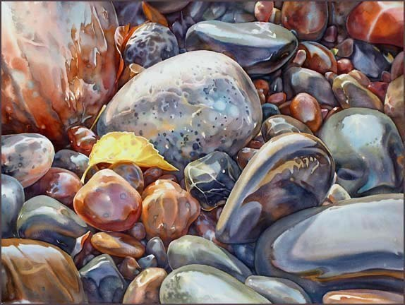 Акварели канадского художника Дэвида Макэона