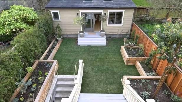 Частный дом как обустроить двор своими руками