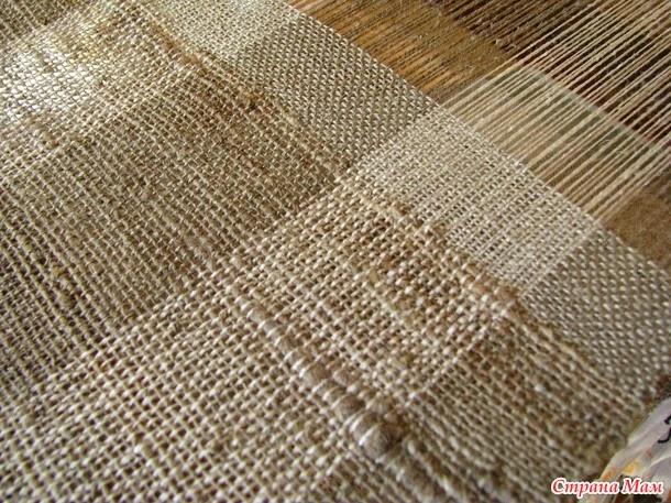 Как сделать ткань из крапивы