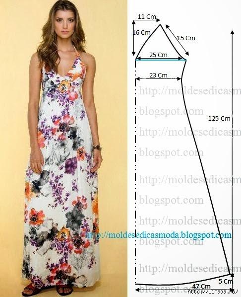 Платье на лето  выкройки фото