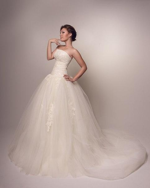 Wedding Saloon :: свадебные платья 2014 с воздушной юбкой
