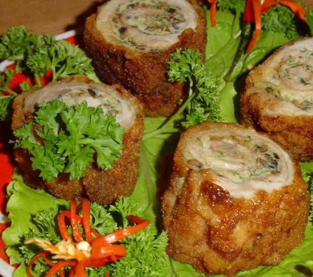 Рецепт горячих мясных блюд к праздничному столу