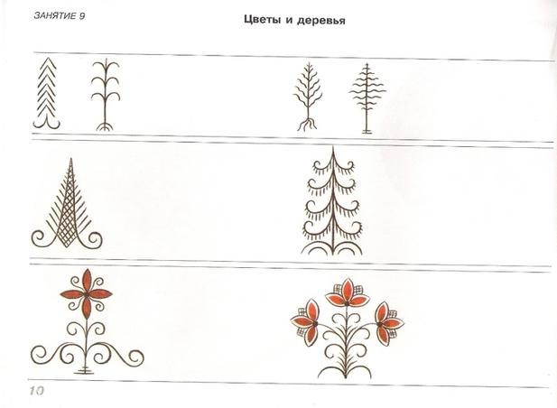 Мезенская роспись пособие