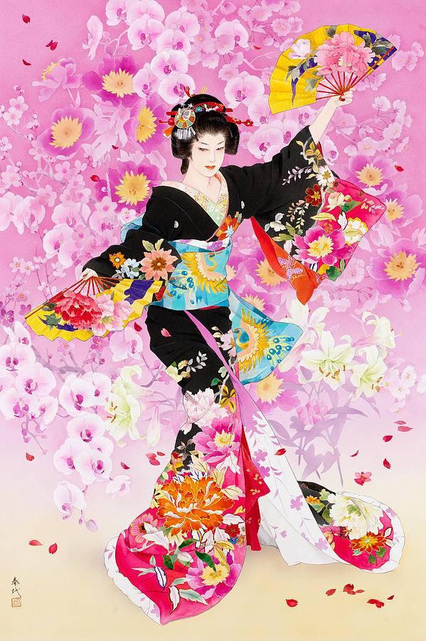 Танец голых японцев с веерами