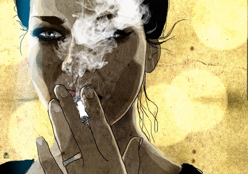 glamour cigarettes Japan tobacco