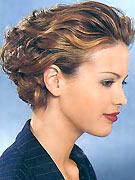 Деловые прически на короткий волос